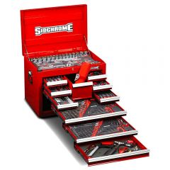 Sidchrome SCMT10128 309pce Metric & AF 10 Drawer Tool Chest Kit