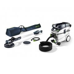FESTOOL LHS E 225 PLANEX Easy Long Reach Sander & CTL 36 Set
