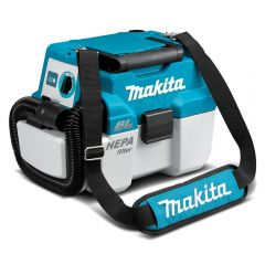Makita DVC750LZX1 18V Li-Ion Cordless Brushless Wet/Dry Dust Extractor