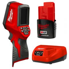 Milwaukee 2258-21 12V 1.5Ah Li-Ion 7.8KP Cordless Thermal Imager Combo Kit