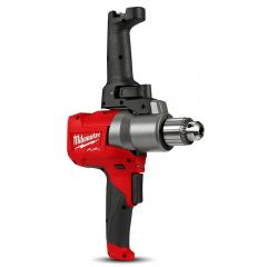 Milwaukee M18FPMC-0 18V Li-ion Cordless Fuel Paddle Mud Mixer with Keyed Chuck - Skin Only