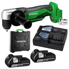 HiKOKI DN18DSL(HF) 18V 2.5Ah Li-ion Slide Keyless Angle Drill Combo Kit