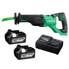 HiKOKI CR18DBL(HY) Hitachi 18V 6.0Ah Li-Ion Brushless Reciprocating Saw Combo Kit