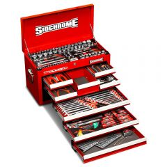 Sidchrome SCMT10158 204pce Metric & AF 8 Drawer Tool Chest Kit