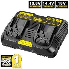DeWalt DCB102-XE 10.8V - 18V XR Li-ion Jobsite Battery Charger Station with USB