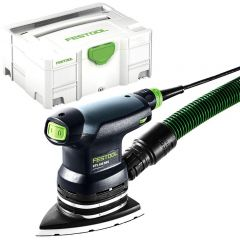 Festool DTS 400 REQ-Plus 250W Delta Iron Head Orbital Sander with Systainer
