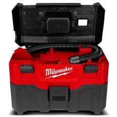 Milwaukee M18WDV-0 18V Li-ion Cordless 7.5L Wet & Dry Vacuum Cleaner - Skin Only