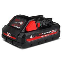 Milwaukee M18HB3 18V 3.0Ah Li-Ion RED LITHIUM High Output Battery