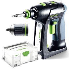 Festool C 18 LI Basic 18V Li-ion Brushless Cordless Drill Driver - Skin Only