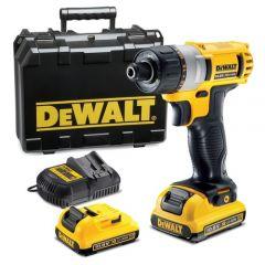 DEWALT DCF610D2-XE 10.8V (2.0AH) CORDLESS ONE-HANDED ScrewDriver Set
