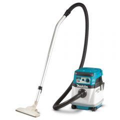 Makita DVC154LZ 36V (18V x 2) Li-Ion Cordless Brushless AWS Dust Extraction Vacuum - Skin Only