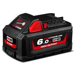 Milwaukee M18HB6 18V 6.0Ah Li-ion Cordless RED LITHIUM High Output Battery