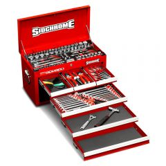 Sidchrome SCMT10157 139pce Metric & AF 6 Drawer Tool Chest Kit