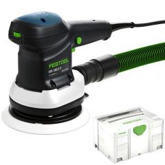 "Festool ETS 150/3EQ-Plus 310W 150mm (6"") Random Orbital Sander"