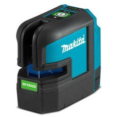 Makita SK105GDZ 12V Max CXT Li-ion Cordless Green Cross Line Laser - Skin Only