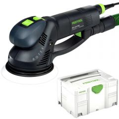 "Festool RO 150 FEQ-Plus 720W 150mm (6"") 3-in-1 Random Orbital Sander"