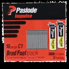 Impulse 25mm (18ga)C1 Brad Fuel Pack  (INSTORE PICKUP ONLY)