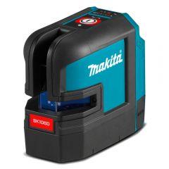 Makita SK106DZ 12V Max Li-ion Cordless 4-Point Red Beam Cross Line Laser