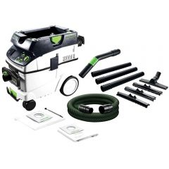 Festool CTM 36 E AC-HD FS 1200W 36L Wet & Dry M Class Dust Extractor