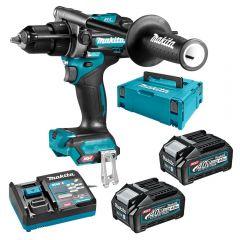 Makita HP001GM203 40V Max 4.0Ah Li-ion XGT Cordless Brushless Hammer Driver Drill Combo Kit