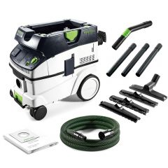 Festool CT 26 E HEPA FS 1200W 26L Wet & Dry HEPA Class Dust Extractor
