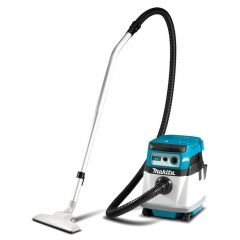 Makita DVC152LZ 36V (18V x 2) Li-ion Cordless Brushless 15L Wet & Dry Dust Extraction Vacuum - Skin Only