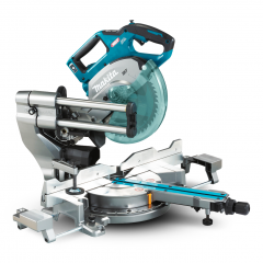 "Makita LS002GZ 40V Max Li-ion XGT Cordless Brushless AWS 216mm (8.5"") Slide Compound Mitre Saw - Skin Only"