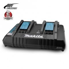 Makita 196936-0 DC18RD 18V Li-Ion Cordless Battery Same Time Dual Port Charger