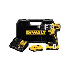 DeWalt DCD796D2-XE 18V 2.0Ah XR Li-Ion Cordless Brushless Hammer Drill Combo Kit