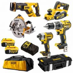 DeWalt DCK578P2-XE 18V 5.0Ah XR Li-Ion Cordless Brushless 5pce Combo Kit
