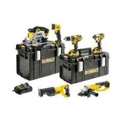 DeWalt DCK653P3-XE 18V 5.0Ah XR Li-Ion Cordless Brushless 6pce Combo Kit