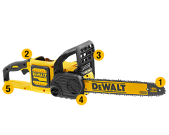 """DeWalt DCM575N-XE 54V FlexVolt XR Li-Ion Cordless Brushless 400mm (16"""") Chainsaw - Skin Only"""