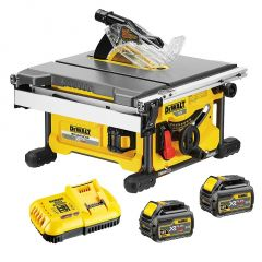Dewalt DCS7485T2-XE 54V XR Li-Ion BRUSHLESS 210mm Table Saw Kit