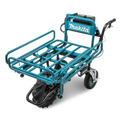 Makita DCU180ZF 36V (18V x 2) Li-ion Cordless Brushless Wheelbarrow with Pipe Frame 199116-7 - Skin Only