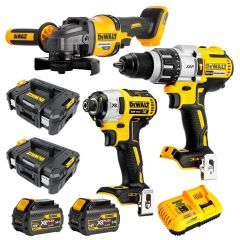 DeWalt DCZ341T2T-XE 18V-54V 6.0Ah FlexVolt XR Li-Ion Cordless Brushless 3Pce Combo Kit