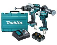 Makita 18V Mobile Brushless 2 Piece Combo Kit DLX2092T