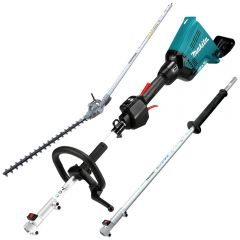 Makita DUX60ZHA 36V (18V x 2) Li-Ion Cordless Brushless Multi Function Power Head Skin with Attachments - (IN STORE PICK UP ONLY)