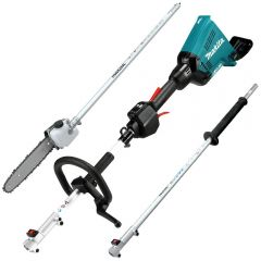 Makita DUX60ZSA 36V (18V x 2) Li-Ion Cordless Brushless Multi Function Power Head Skin with Attachments - (IN STORE PICK UP ONLY)