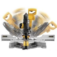 "DeWalt DWS780-XE 1675W 305mm (12"") Dual Bevel Slide Compound Mitre Saw"