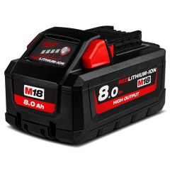 Milwaukee M18HB8 18V 8.0Ah Li-ion Cordless RED LITHIUM High Output Battery