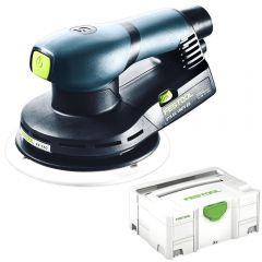 "Festool ETS EC150/5 EQ-PLUS EC150/5 EQ-PLUS 400W 150mm (6"") Random Orbital Sander"