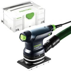 "Festool RTS 400 REQ-Plus 250W 1/4"" Sheet Orbital Sander with Systainer"