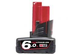 Milwaukee M12B6 12V 6.0Ah Li-ion Cordless RED LITHIUM Battery