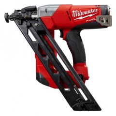 Milwaukee M18CN15GA-0C 18V Li-ion Cordless Fuel 15ga Angled Finish Nailer - Skin Only