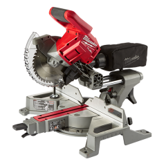 Milwaukee M18FMS184-0 18V Li-ion Cordless FUEL 184mm Dual Bevel Sliding Compound Mitre Saw - Skin Only
