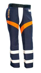 STIHL G&U Navy Chainsaw Protective Chaps Available in S - L - (In Store Pick Up Only)