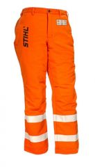 STIHL G&U Orange Chainsaw Protective Pants Available In S - XL - (In Store Pick Up Only)