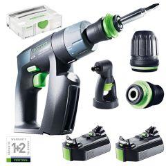 Festool CXS Mini Cordless Drill/Driver Set 2,6Ah