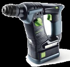 Festool BHC 18 Li 5.2 Plus 5.2Ah 18V 5.2Ah Li-Ion Cordless Brushless Rotary Hammer Drill Combo Set